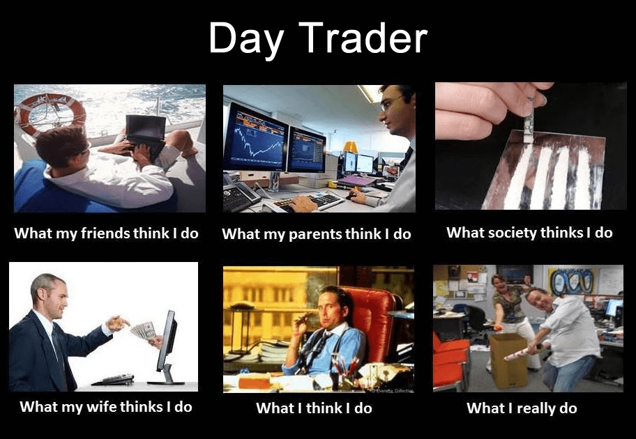 How many forex trades per day
