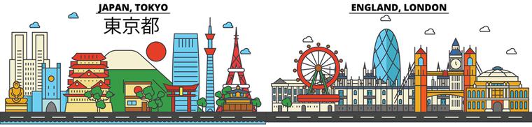 Tokyo-London Overlap