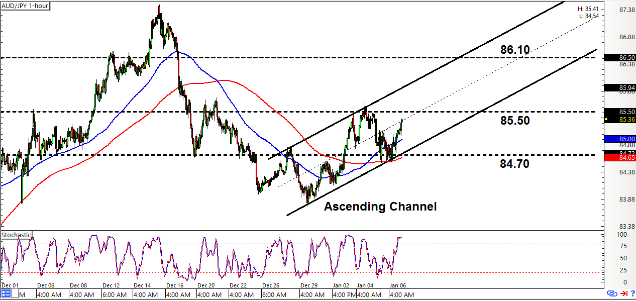 Forex aud jpy