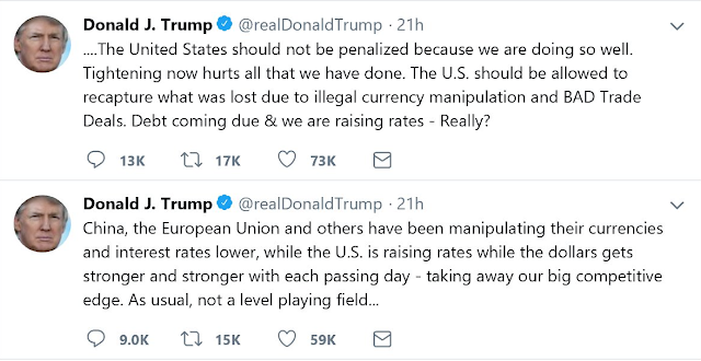 Trump Tweest About USD